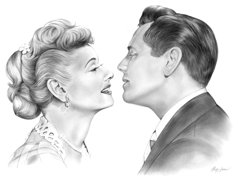 Lucy and Desi by gregchapin