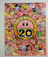 Kirby 20th anniversary poster by KirbyIsLove