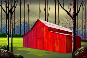 The Red Barn by TomCarlos