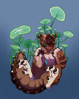 Goretober 4: Plant Growth by ground-lion