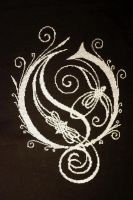 Opeth Logo Cross Stitch by VickitoriaEmbroidery