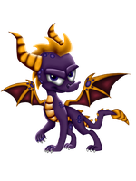 Return of the Dragon Official ~ Spyro the Dragon by TravistheDragon00