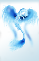 ice dragon by celticessence