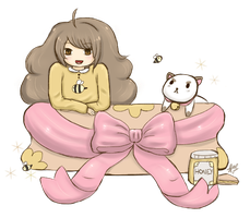 Bee and Puppycat by Rabisue