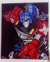 Optimus prime by OggysWorld