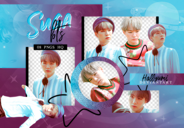 PNG PACK: SUGA #12 'YOUNG FOREVER' by Hallyumi