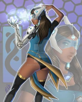 Symmetra by martheus