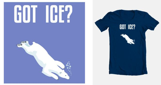 Got Ice? Threadless Contest by Sequana