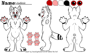 Vladmimir's official reference sheet by SlavicPrince