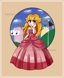 Collab: Mushroom Princess by Lady-Zelda-of-Hyrule