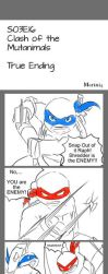 TMNT comic 1 - Clash of Mutanimals TRUE ENDING by Marini4