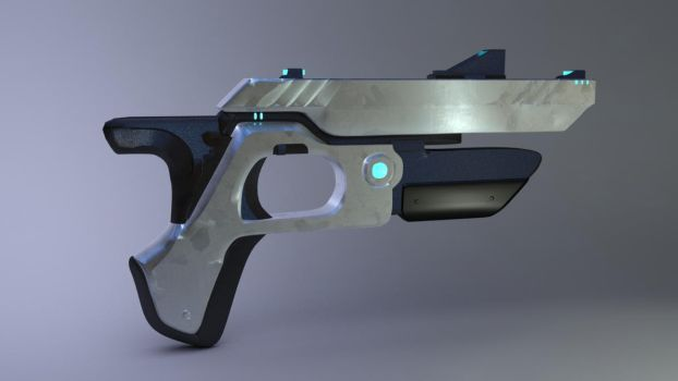 Klatch Blaster Co. Model- Textured by JWright-3D-Graphics