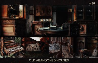 Old Abandoned Houses Texture Pack ll #30 by LilithDemoness