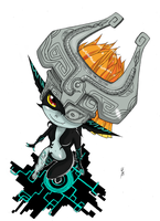 Fanart 2 Midna TLoZ Twilight princess by Cartakerjvb
