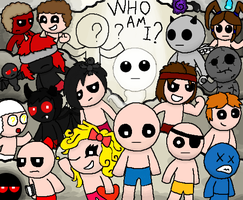 The Binding of Isaac :Who Am I? by Gianluca850