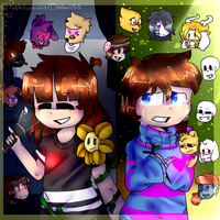 Opss Everything Changes-fnaf And Undertale-redraw by rainbow223