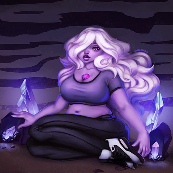 Steven Universe: Amethyst by ChiCaGos