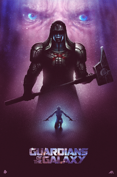 Guardians of the Galaxy - Blurppy's Poster Posse by adamrabalais