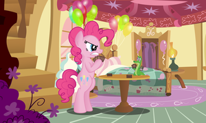 Pinkie and Gummy play Magic by artwork-tee