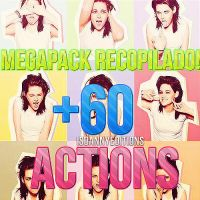 MEGAPACK +60 Actions by JeffvinyTwilight