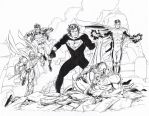 Return of Superman Commission Grummett Hazlewood by DRHazlewood