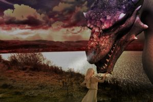 Saying hello to the Loch Ness Monster by BigA-nt