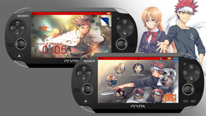 Shokugeki no Soma [PS Vita Custom Theme] by TrNxSLAYER