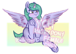 YCH-Angry Pony by Anykoe22