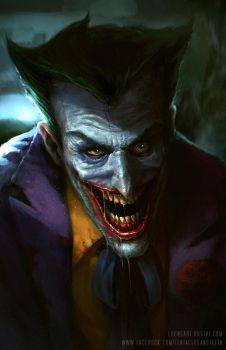 Joker by TentaclesandTeeth