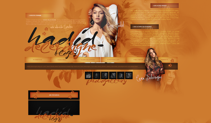 Layout ft. Gigi Hadid and Cara Delevingne by PixxLussy