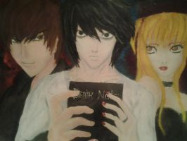 Death note by Beautiful-oxygen
