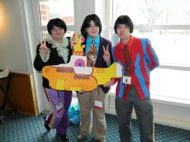 Yellow Submarine Setsucon 2015 by bumac