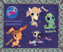 LPS adopts [African pack. 2] CLOSED by LisaOrise