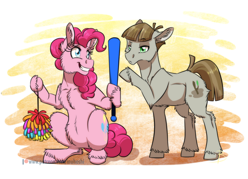 No Sticks Were Harmed by InuHoshi-to-DarkPen