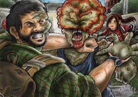The Last of Us Clicker by Pepowned