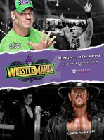 John Cena vs Undertaker - Wrestlemania 34 by SidCena555