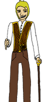 DnD character: Conman by Ikhael