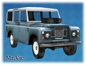 Land Rover 109 Safari by Victorixxx