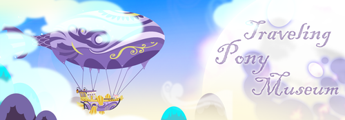 Traveling Pony Airship by InkyNotebook