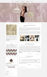 Free G-Portal fansite theme with Alicia Vikander by Efruse