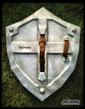 'Skyward Sword' Hylian Shield (Back) by JayCosplay