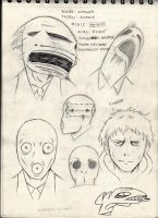 Animus Characters concepts 2 by MrParanoidXXX
