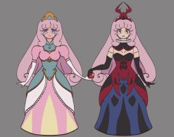 Sailor Moon: Dream Princess and Dream Dolly by pumqin