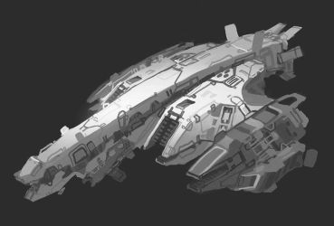 Titan-Naam attack bomber by Talros