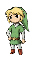 OoT-TP Link, MC Style by TinSil