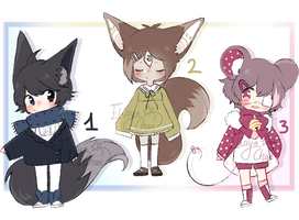 [CLOSED] Kemonomimi Adopts by Elissya-chan