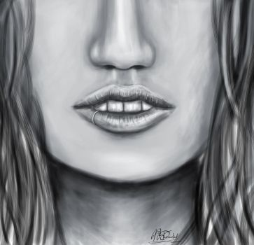 Face 1 by MzDemented