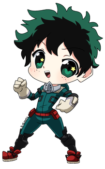Deku Chibi by Z-Graves