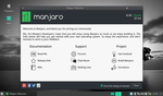 Manjaro Welcome by FractalMonster