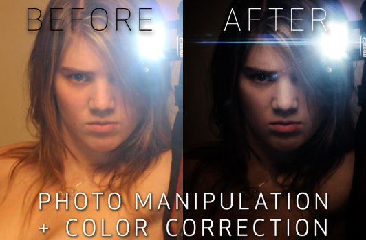 Before + After_Intense Glare by Tzuck